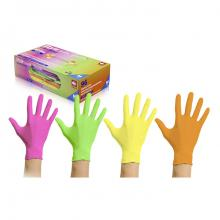 Tuttifrutti handschoenen nitril - 4 kleuren - small - 96 stuks